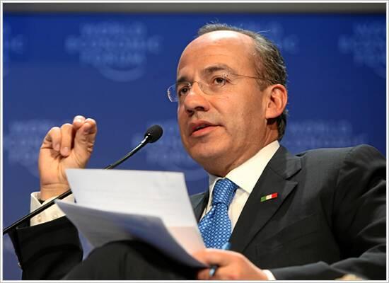 Felipe Calderón Hinojosa se burló de los candidatos del Frente Ciudadano