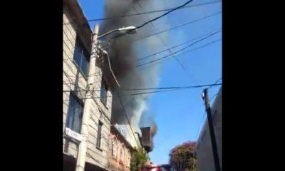 Reportan incendio en Agrícola Oriental