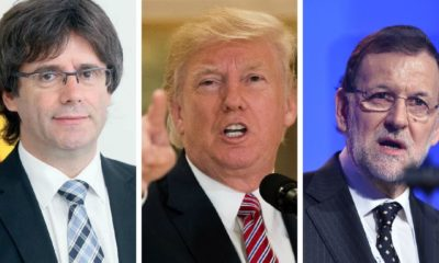 Reacciones tras la declaración de Independencia de Cataluña