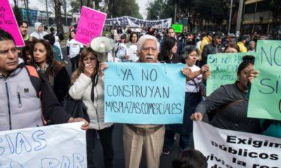 A dos meses del 19S, damnificados exigen apoyo con marcha