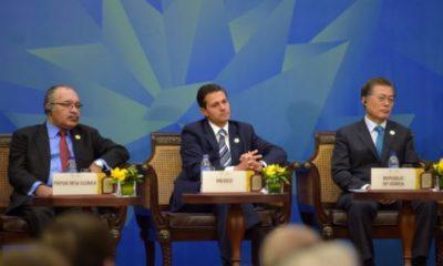 Integrantes del APEC a favor del libre comercio: Peña Nieto