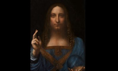 Salvator Mundi de Da Vinci es la obra más cara de la historia