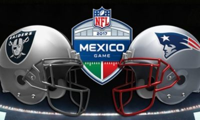 Todo listo para el Patriots vs Raiders