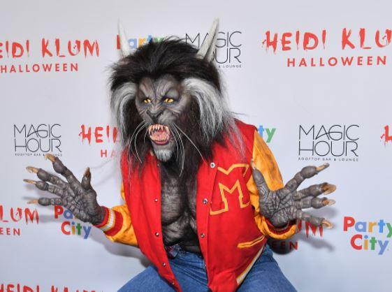 Heidi Klum en Halloween