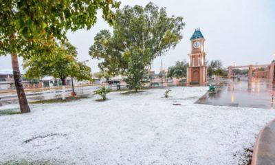 Primer nevada cubre de blanco Piedras Negras