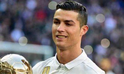 Ronaldo gana su quinto Balón de Oro