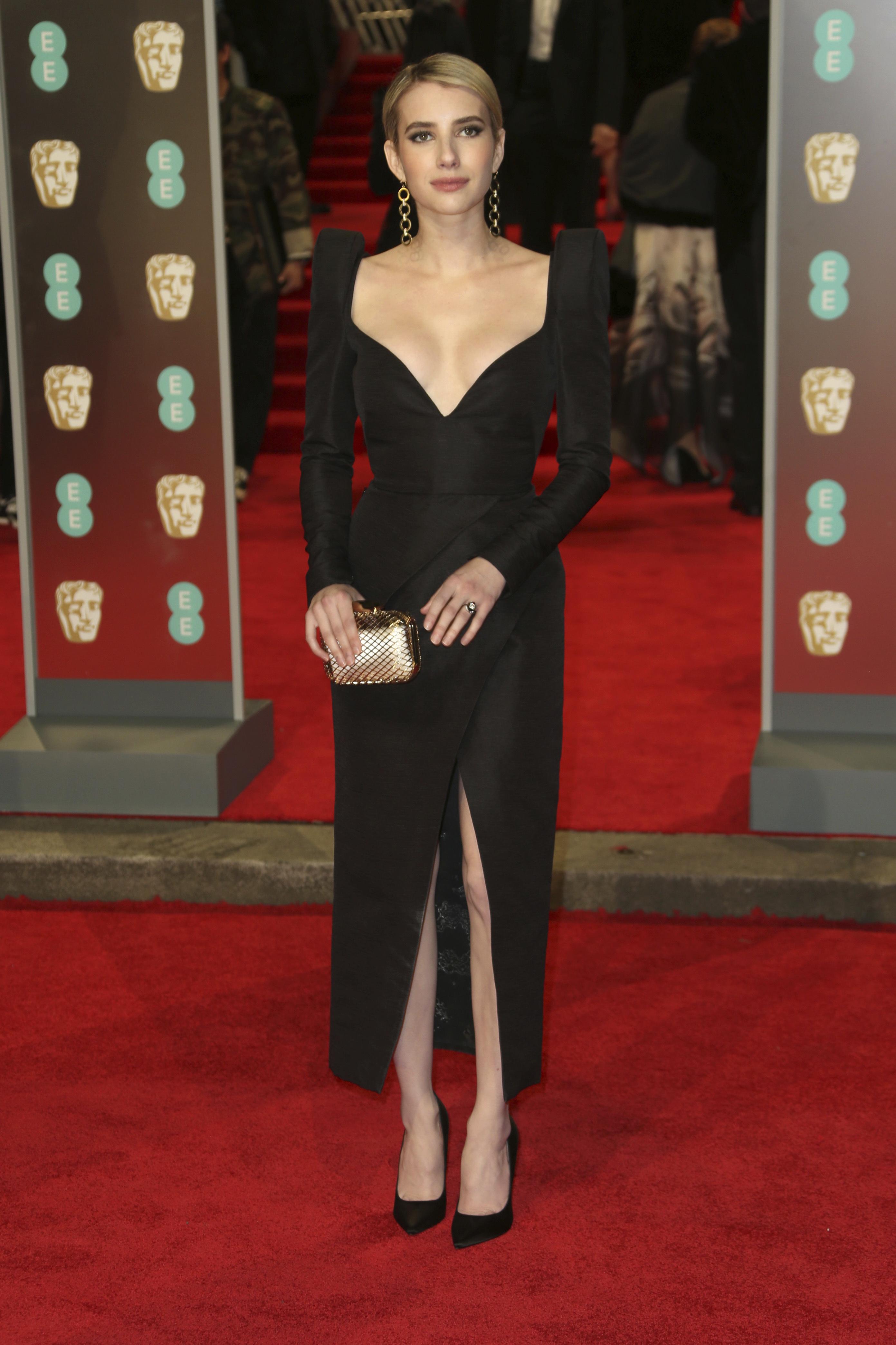 La talentosa actriz Emma Roberts
