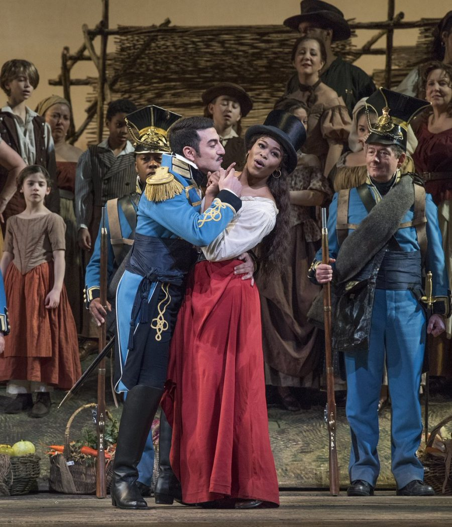 Cantante sudafricana en el Met Opera