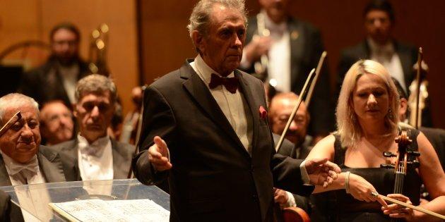 Enrique Bátiz cancela concierto en la UNAM