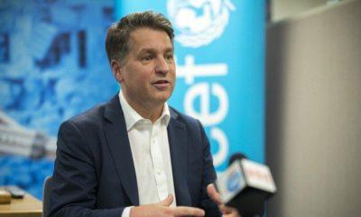 Forsyth renunció a la UNICEF después de denuncias de acoso sexualForsyth renunció a la UNICEF después de denuncias de acoso sexual