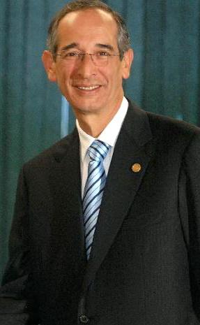 Álvaro Colom Presidente de Guatemala Foto: especial