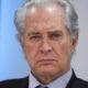 """El actor Rogelio Guerra murió a los 81 años de edad, así lo informó la Asociación Nacional de Interpretes, el protagonista del melodrama """"Los ricos también llorán"""" sufrio desde hace un par de años de un daño cerebral que le impedía hablar y caminar. En la imagen del 19 de marzo de 2015 el histrión durante una conferencia de prensa en el Senado. Foto: Cuartoscuro"""