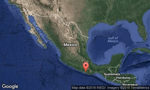 Sismo con epicentro en Oaxaca
