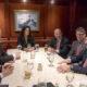Videgaray se reúnen con miembros de la Casa Blanca