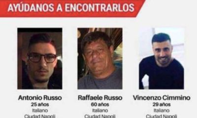 Italianos desaparecidos. Foto: Especial