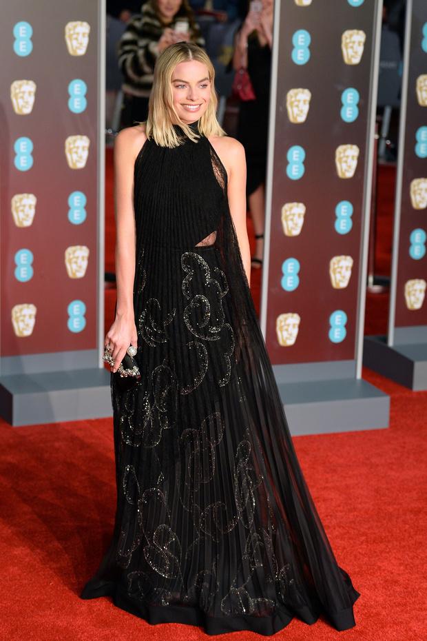 La nominada a mejor actriz Margot Robbie  Mar