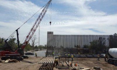 Construcción de muro fronterizo