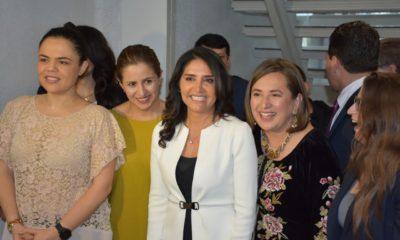 Alejandra Barrales, candidata del Frente a la Ciudad de México