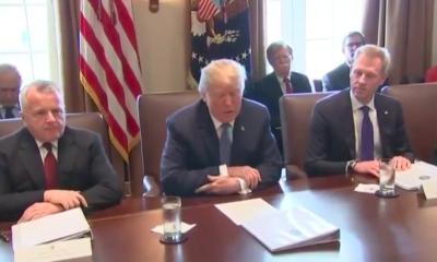 Trump sobre presidente sirio