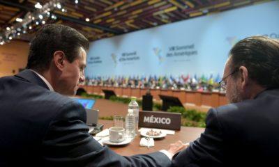Peña Nieto y Luis Videgaray