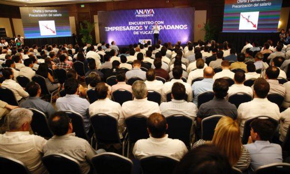 Ricardo Anaya empresarios