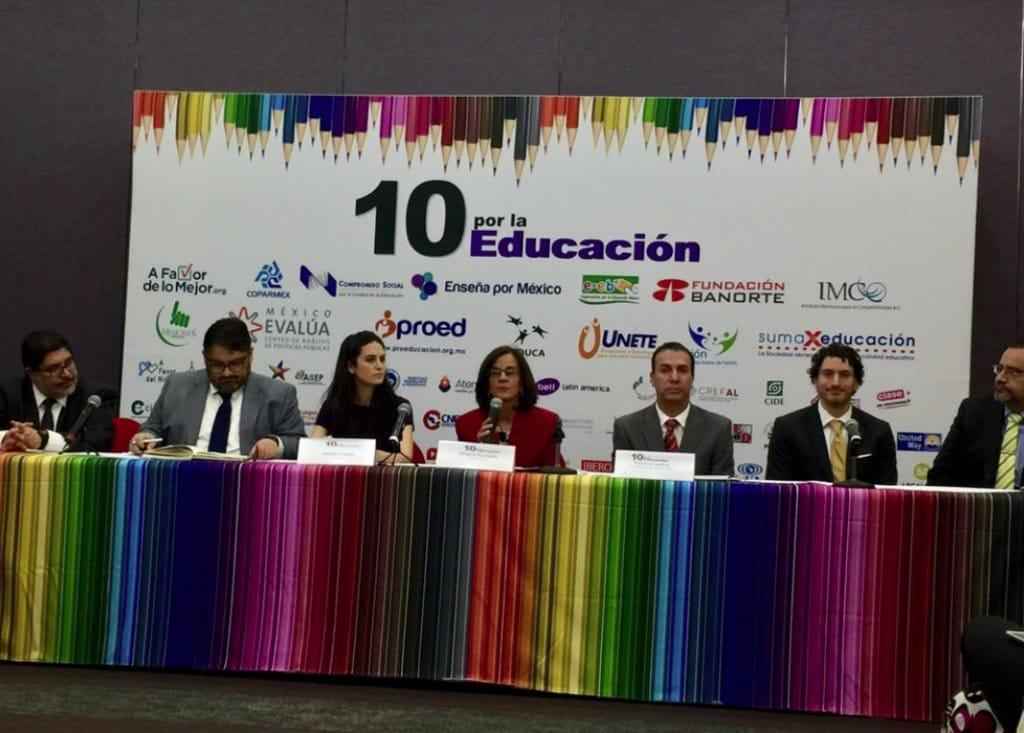 10 por la Educación responde
