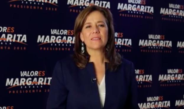 Margarita Zavala renuncia a la carrera presidencialMargarita Zavala renuncia a la carrera presidencial