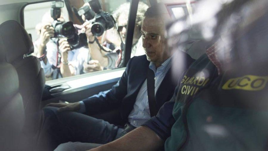 Detenido Eduardo Zaplana en Valencia