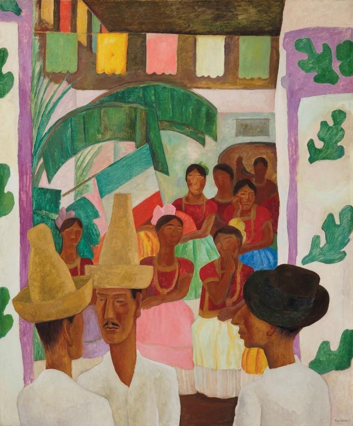 Los Rivales. Diego Rivera(1931)