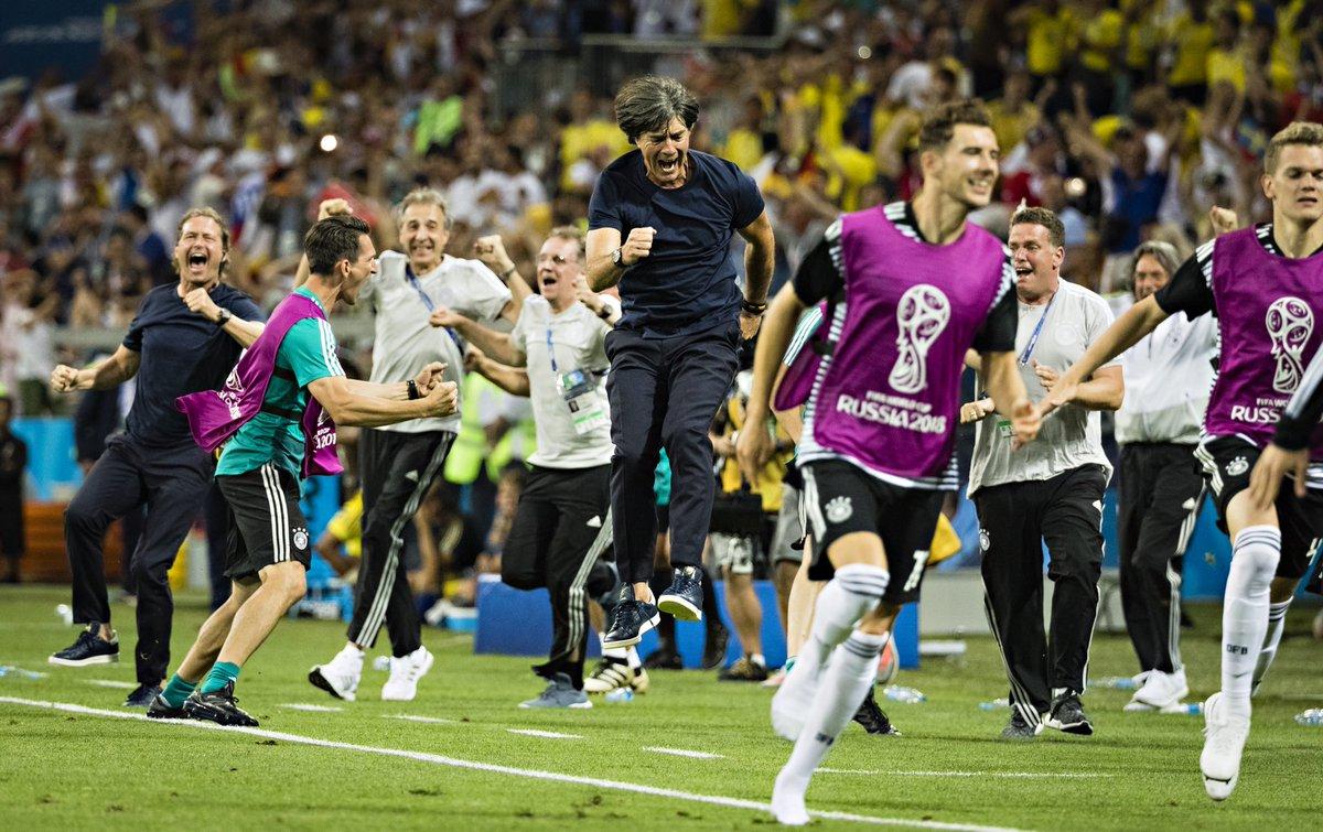 Alemania gana a Suecia