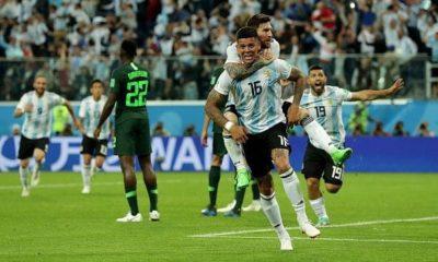 Argentina en octavos