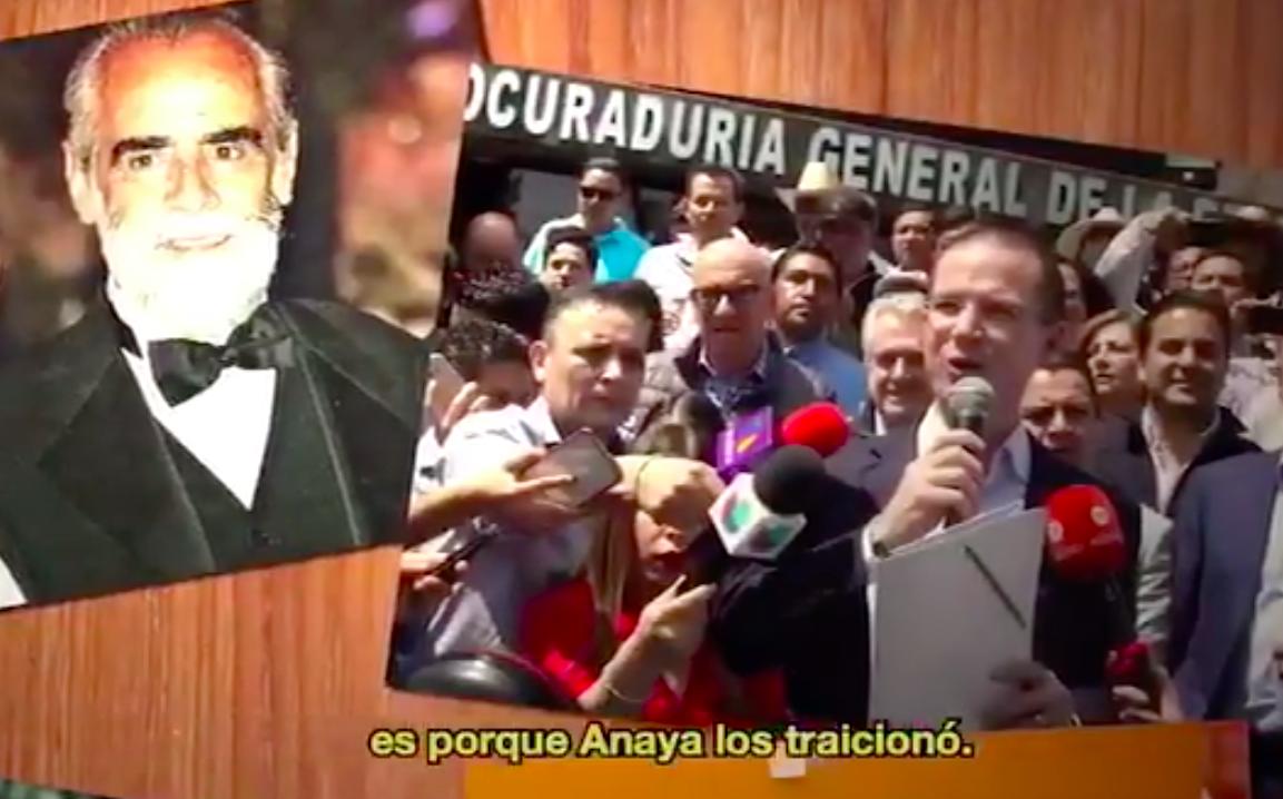 Morena tacha a Anaya de traidor