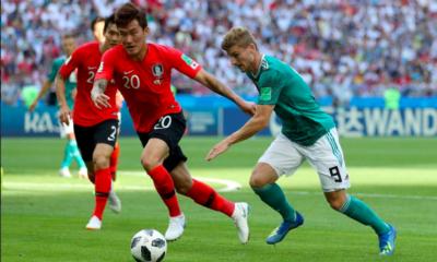 Corea derrota a Alemania