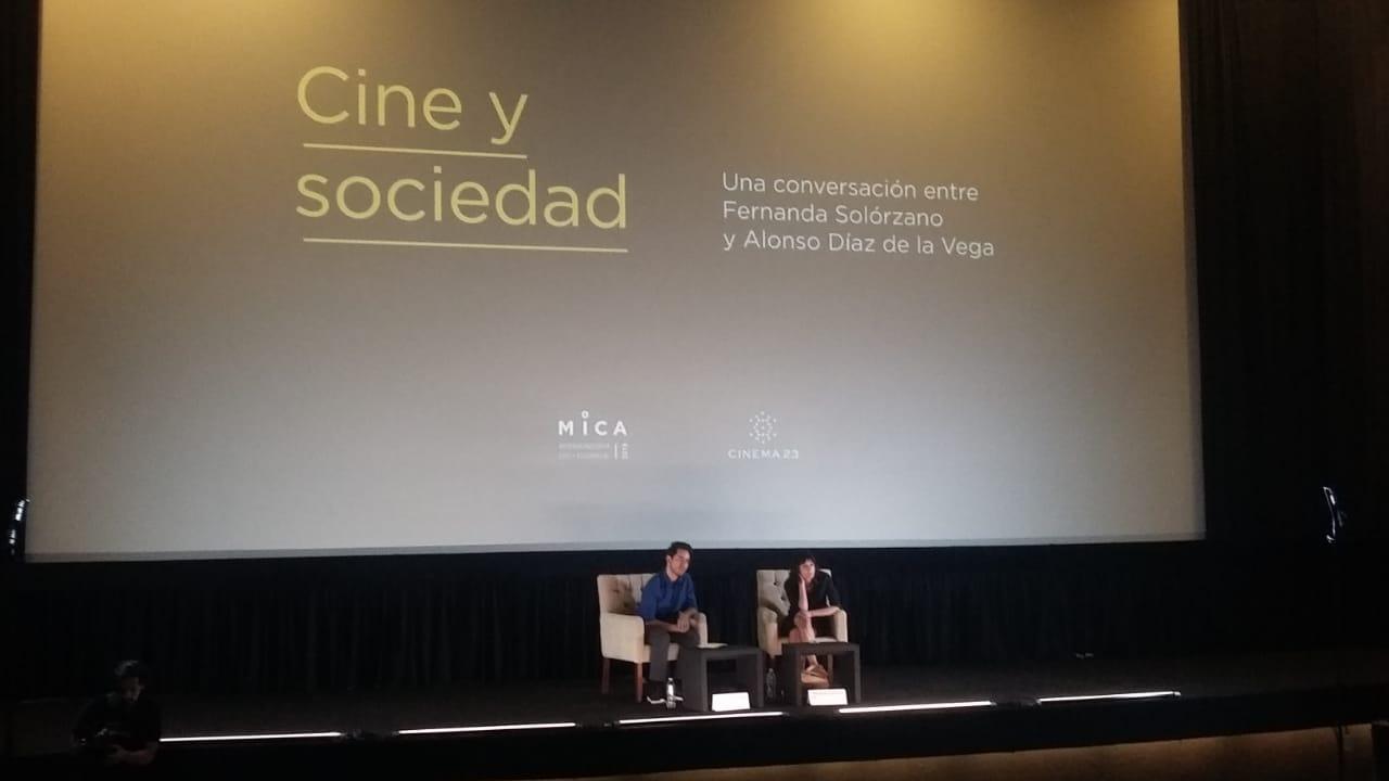 Fernanda Solórzano y Alonso Díaz de la Vega diseccionan el cine mexicano