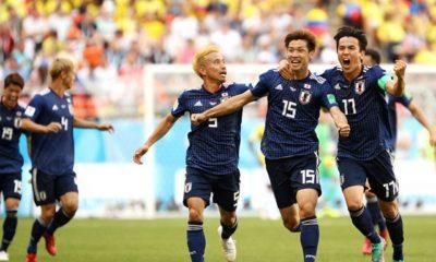 Gana Japón contra Colombia