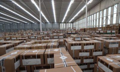 INE transporta material electoral
