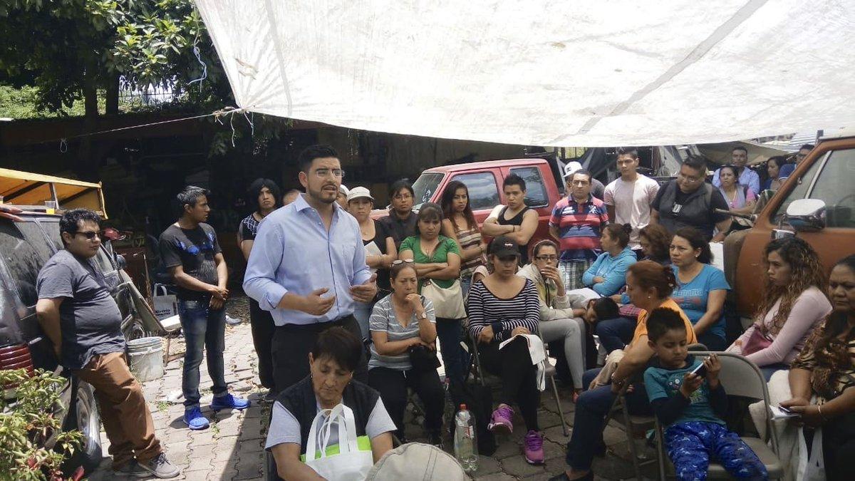 Oliverio Orozco, candidato en Coyoacán
