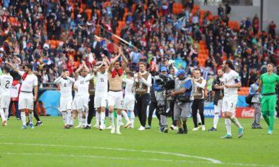 Uruguay gana ante un difícil Egipto