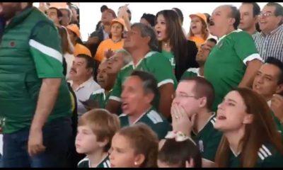 Anaya ve el partido de la Selección Mexicana