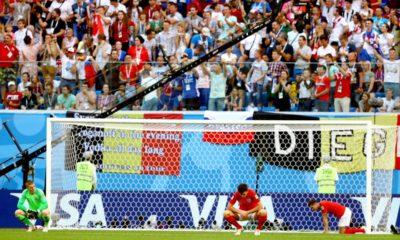 Inglaterra pierde contra Bélgica
