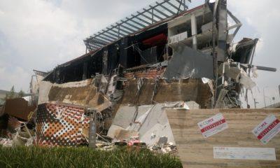 Plaza Artz demolición