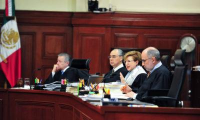 CIUDAD DE MÉXICO, 05JUNIO2018.- Sesión del Pleno en la Suprema Corte de Justicia de la Nación encabezada por el ministro presidente Luis María Aguilar Morales. FOTO: SCJN /CUARTOSCURO.COM