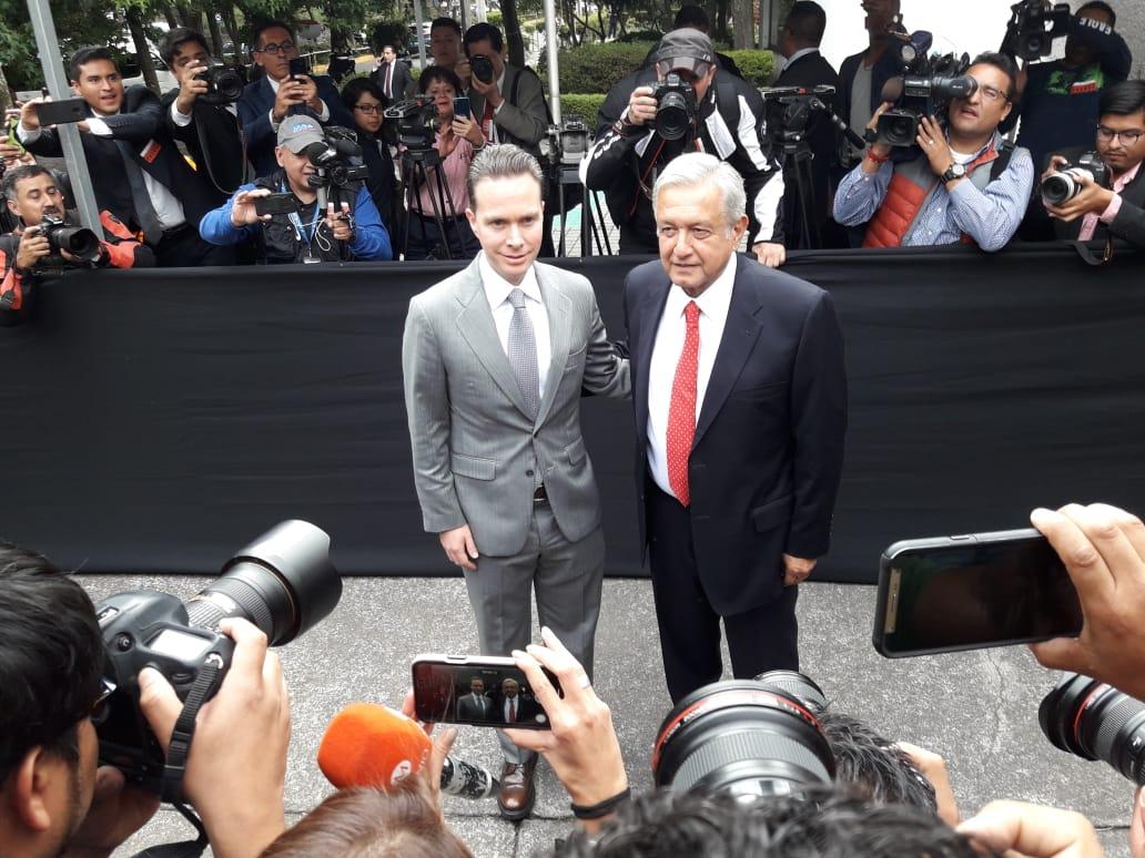AMLO con Manuel Velasco