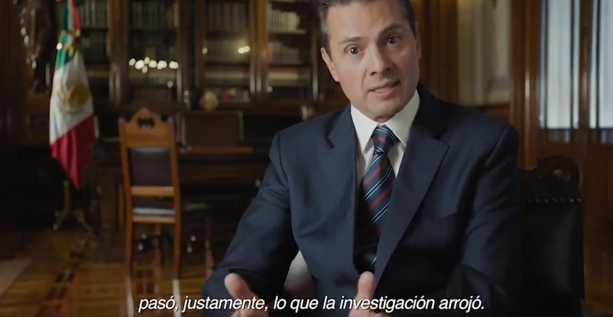 A la par de defender la verdad histórica sobre Ayotzinapa, EPN reconoce fracaso en el tema de la seguridad en el país