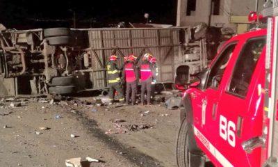 Accidente de autobús en ecuador droga