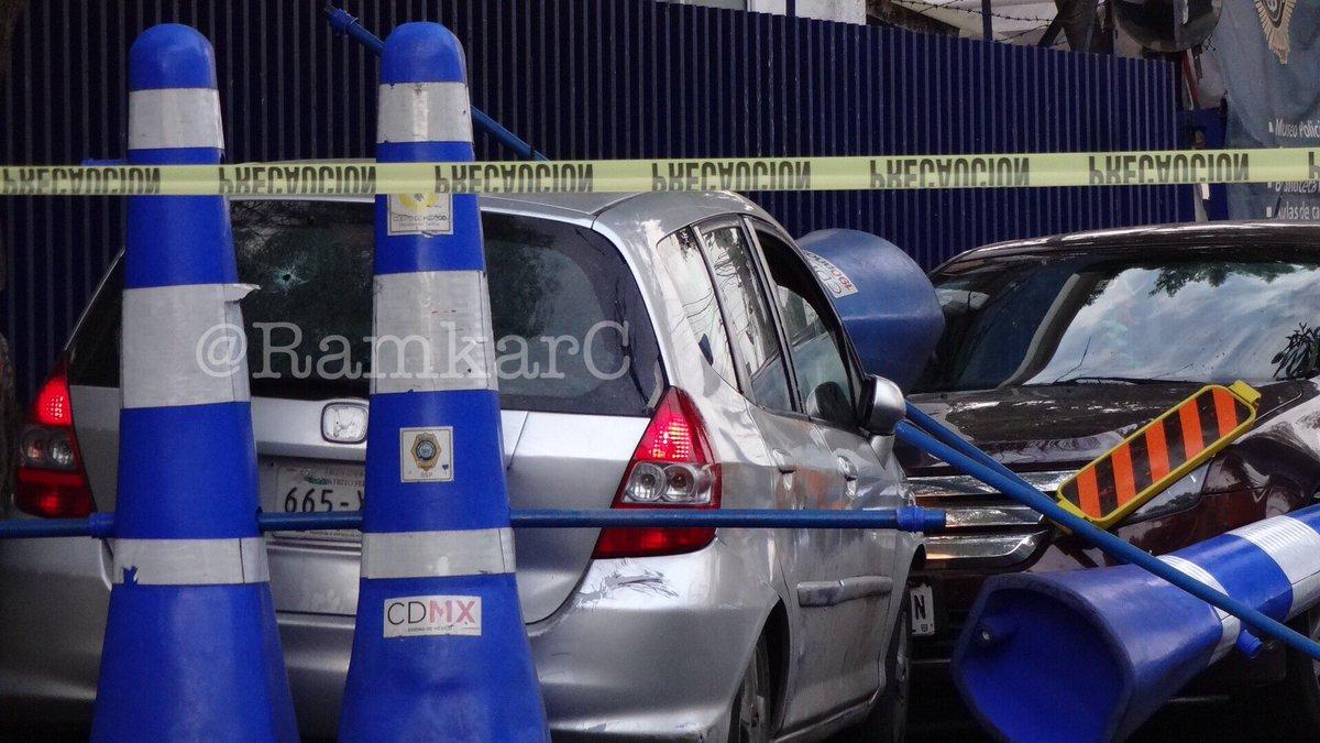 Asesinato por presuntos policías en Iztacalco