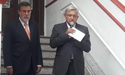 AMLO y Julio Scherer Ibarra