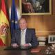 MADRID, ESPAÑA, 02JUNIO2014.- Luego de 39 años de reinar tras la dictadura de Franco, el Rey Juan Carlos ha anunciado el relevedo en España en favor de su hijo Felipe, mientras los principales partidos avalan el cambio, y algunos sectores republicanos llaman a manifestaciones para que termine la monarquía en España. FOTO: CUARTOSCURO.COM