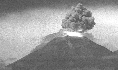 Popocatépetl exhalaciones ceniza