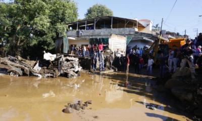 Desbordamiento Michoacán Lluvias